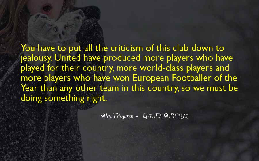 Quotes About Football Club #1326952