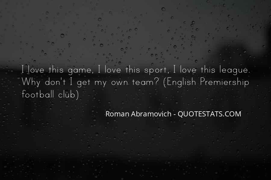 Quotes About Football Club #1764935