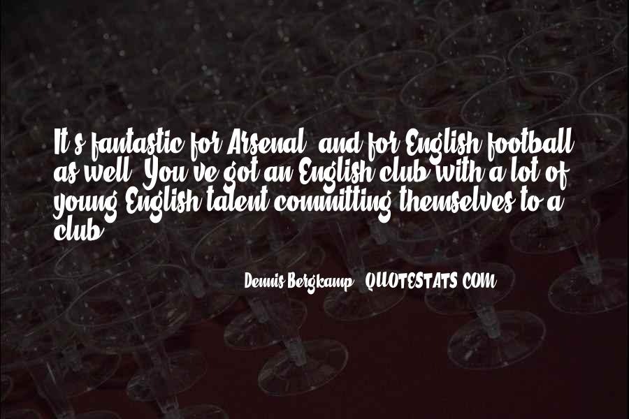 Quotes About Football Club #351297