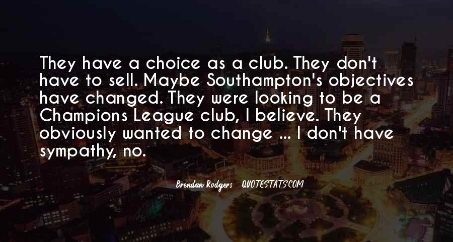Quotes About Football Club #540959