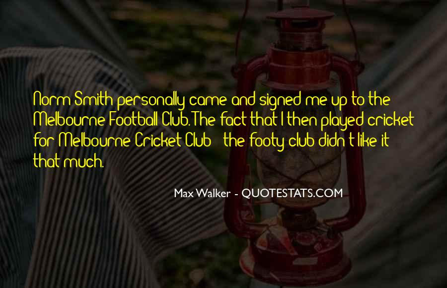 Quotes About Football Club #637508