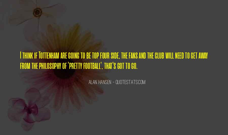 Quotes About Football Club #846956