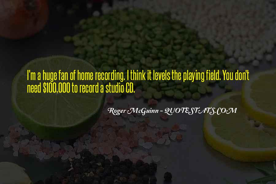 Home Field Quotes #111422