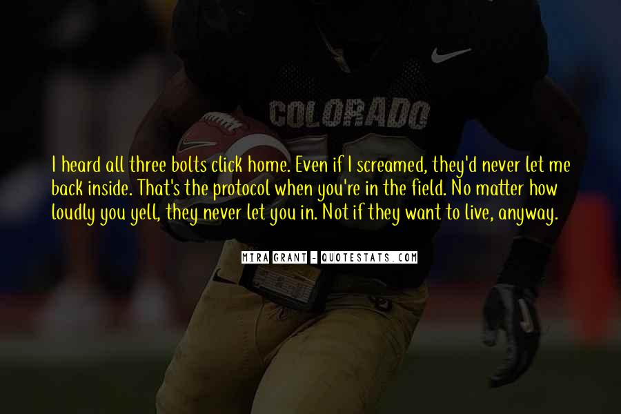 Home Field Quotes #305896