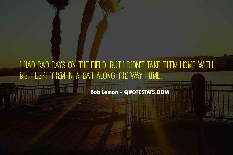 Home Field Quotes #42658