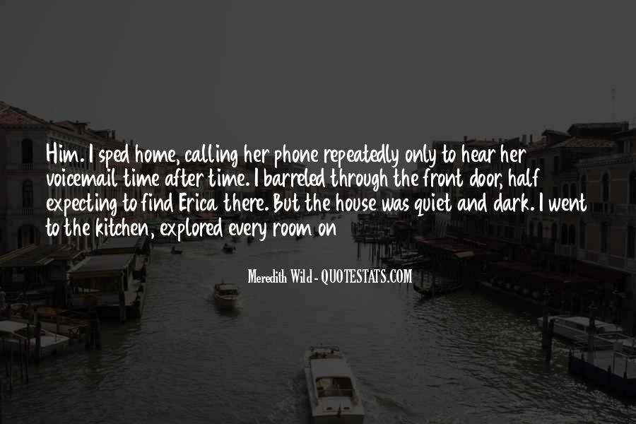 Home Is Calling Quotes #1284084