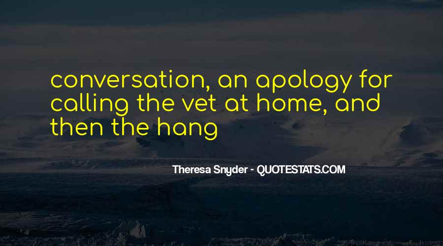 Home Is Calling Quotes #1451471