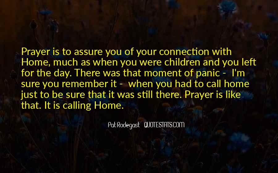 Home Is Calling Quotes #1455305