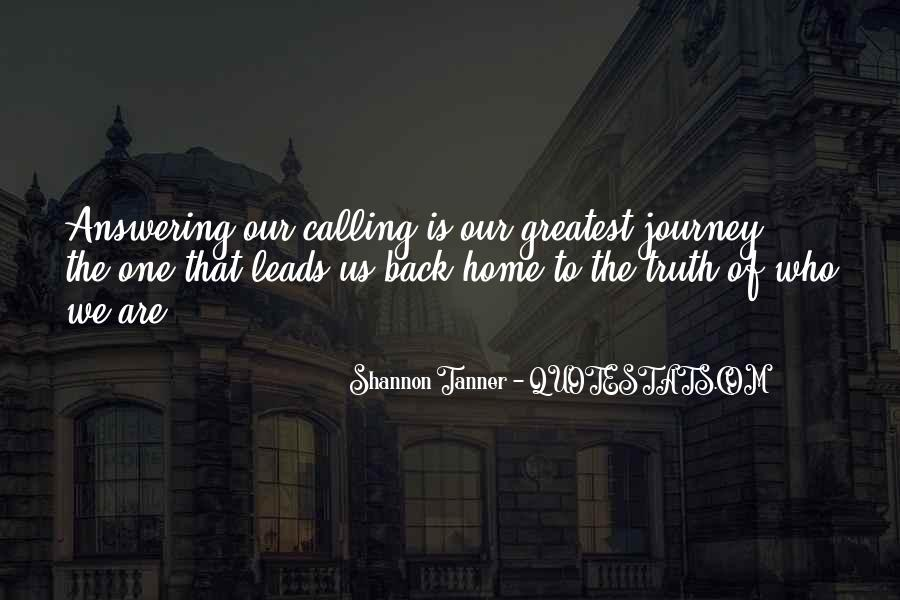 Home Is Calling Quotes #162038