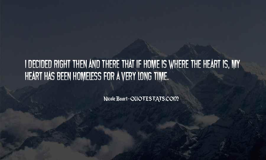 Home Is Where The Heart Quotes #1790449