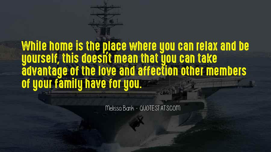 Home Love Family Quotes #1493170