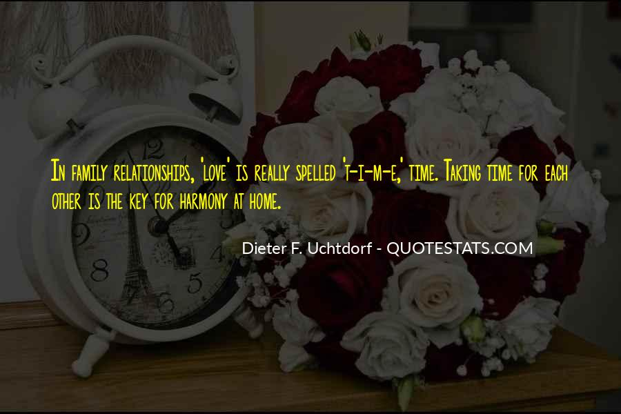 Home Love Family Quotes #443274
