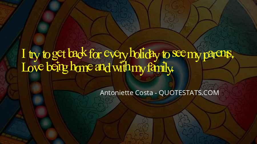 Home Love Family Quotes #645344
