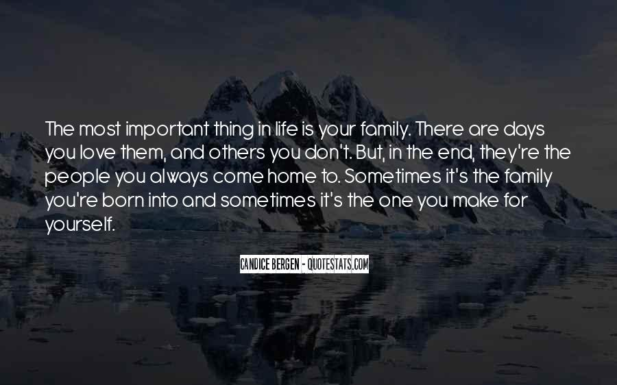 Home Love Family Quotes #886617