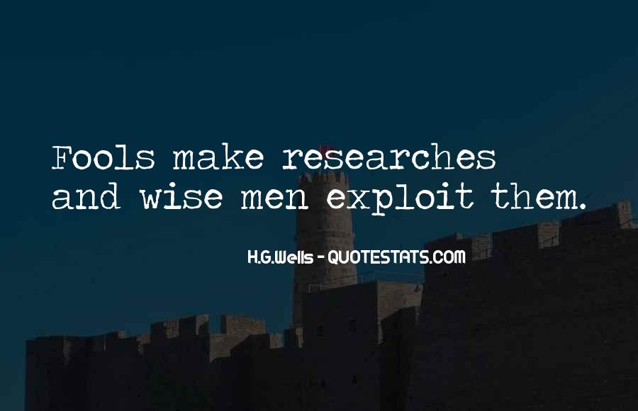 Top 42 Quotes About Fools And Wise Men: Famous Quotes ...