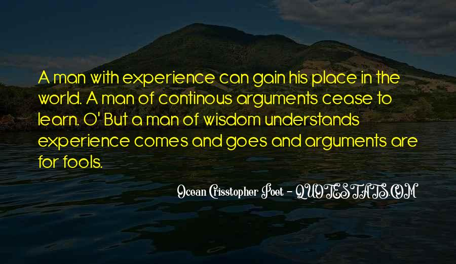 Quotes About Fools And Wisdom #1870959