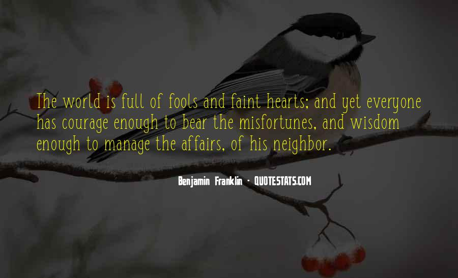 Quotes About Fools And Wisdom #331683