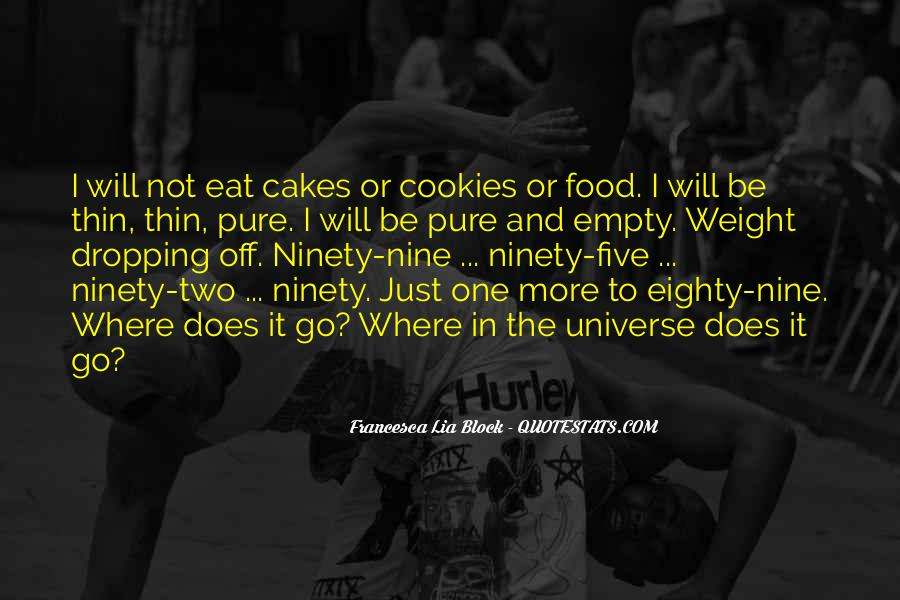 Quotes About Food Disorder #1320918