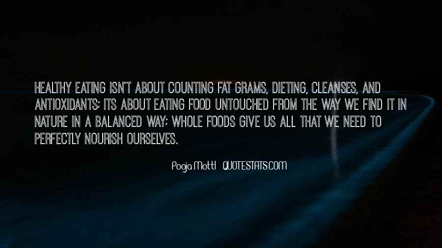 Quotes About Food Disorder #214151