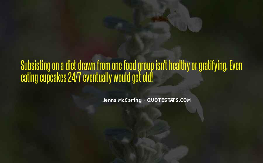 Quotes About Food Diet #1002383