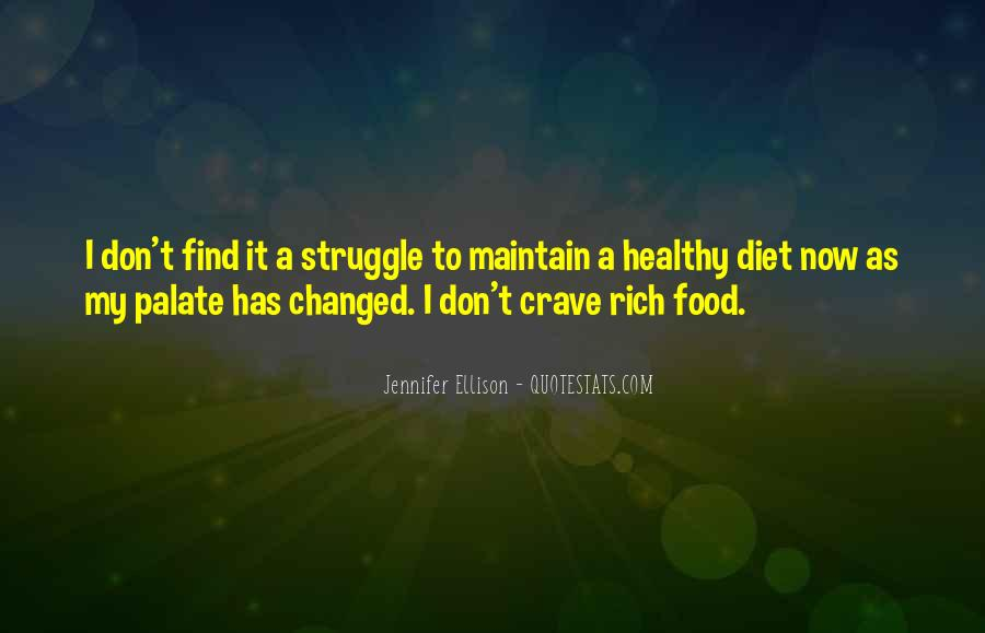 Quotes About Food Diet #100763