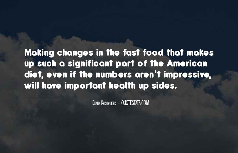 Quotes About Food Diet #113510
