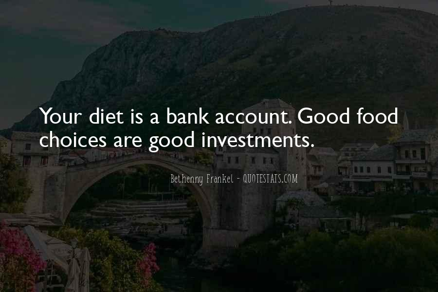 Quotes About Food Diet #138106