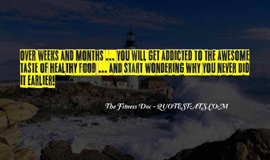 Quotes About Food Diet #166749