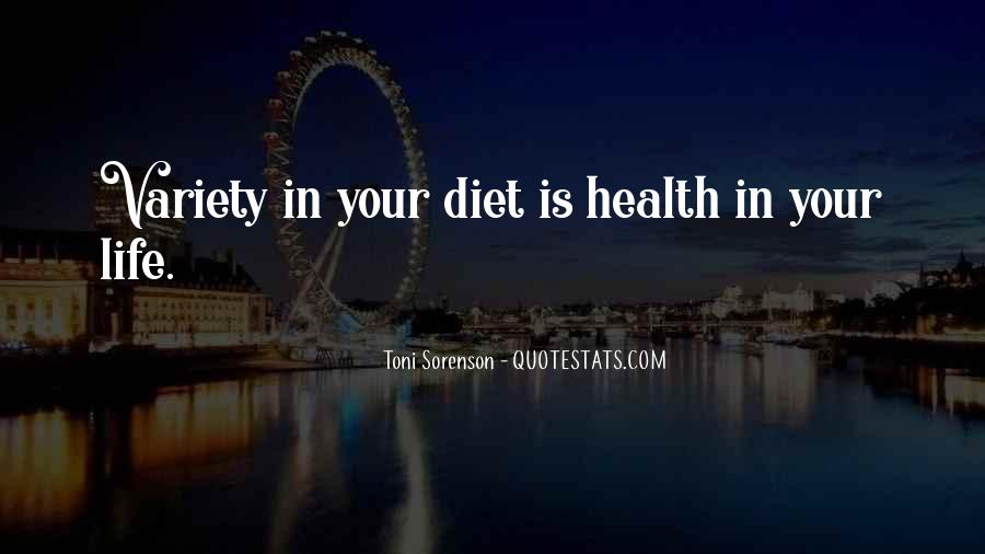 Quotes About Food Diet #210938
