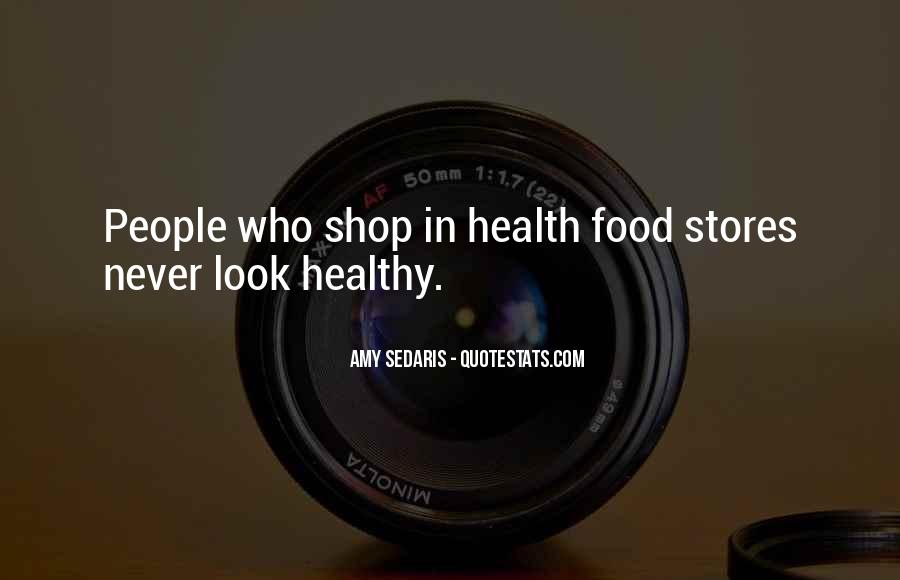 Quotes About Food Diet #452694