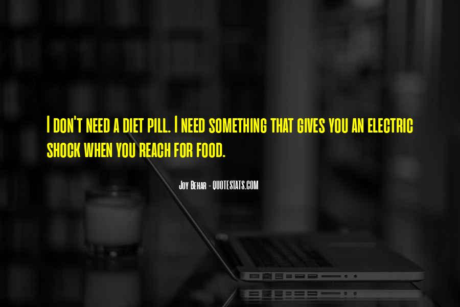 Quotes About Food Diet #569639