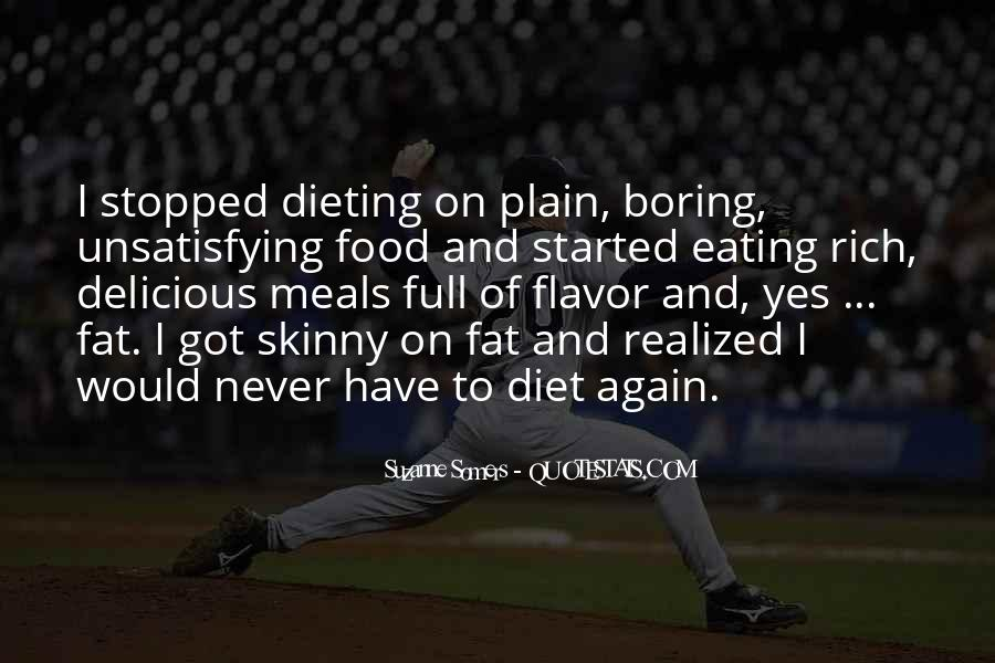 Quotes About Food Diet #68344