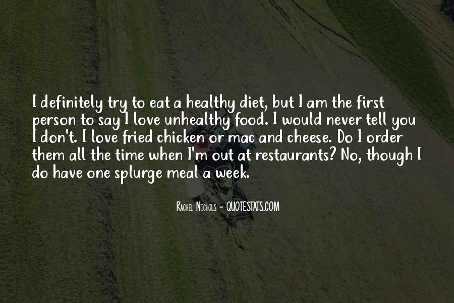 Quotes About Food Diet #804650