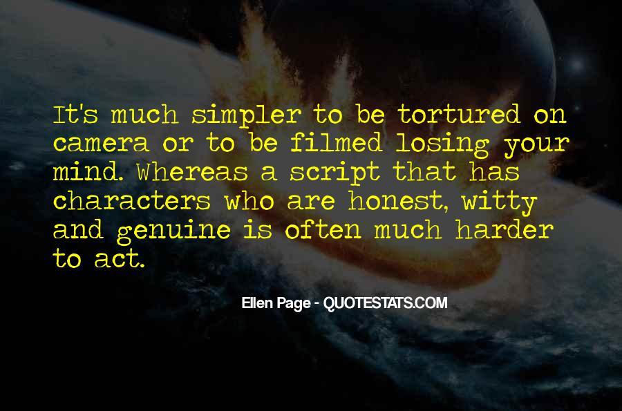 Honest And Genuine Quotes #1090849
