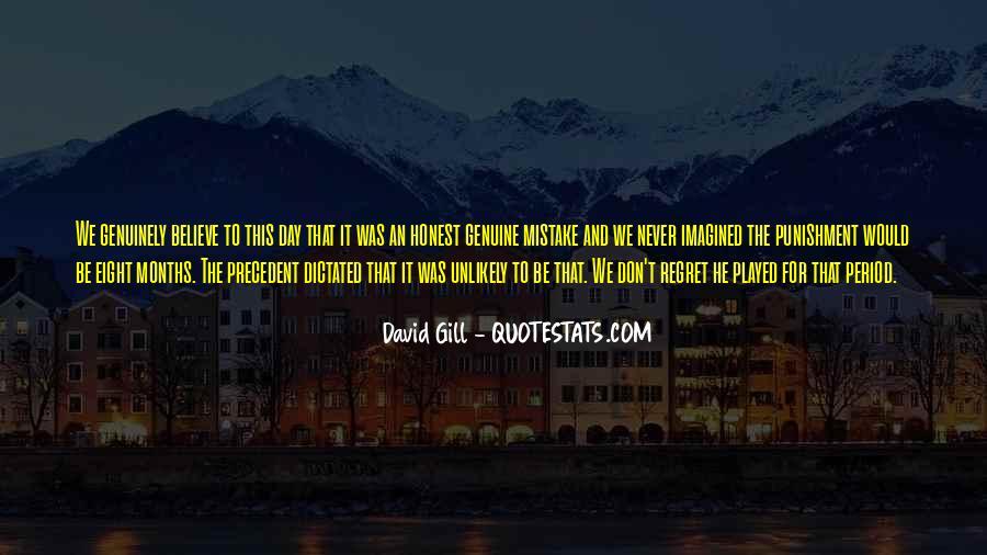 Honest And Genuine Quotes #1427567
