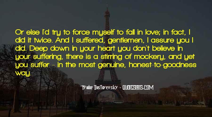 Honest And Genuine Quotes #156643