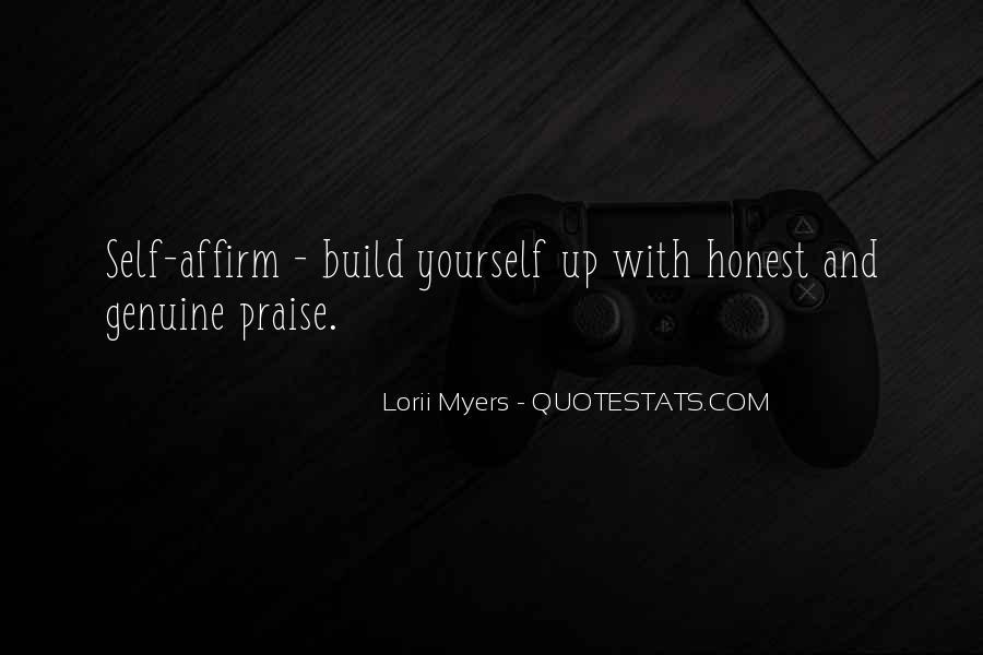 Honest And Genuine Quotes #337864