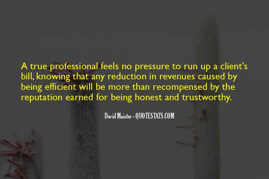 Honest And Trustworthy Quotes #1216758