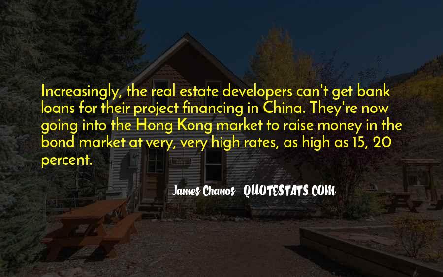 Hong Kong Bond Quotes #259007