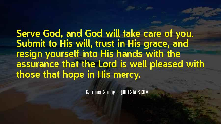 Hope And Trust In The Lord Quotes #578306