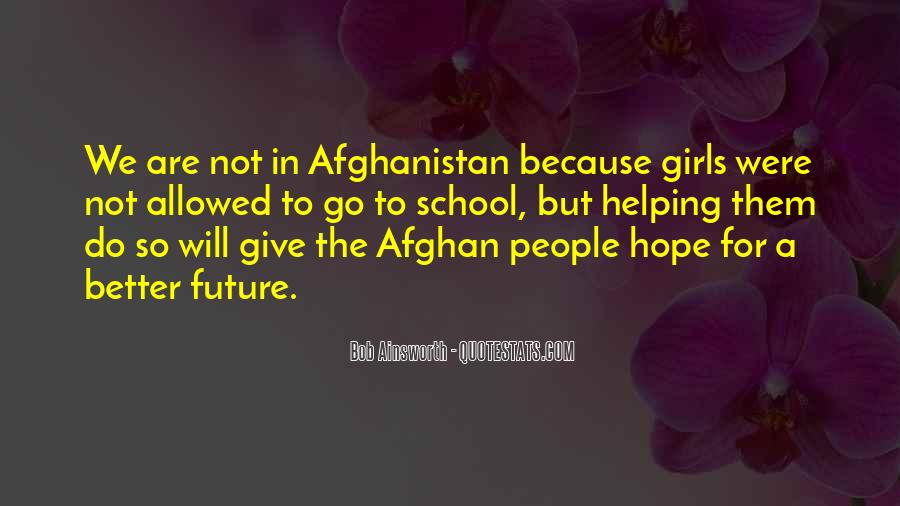 Hope Better Future Quotes #1092696