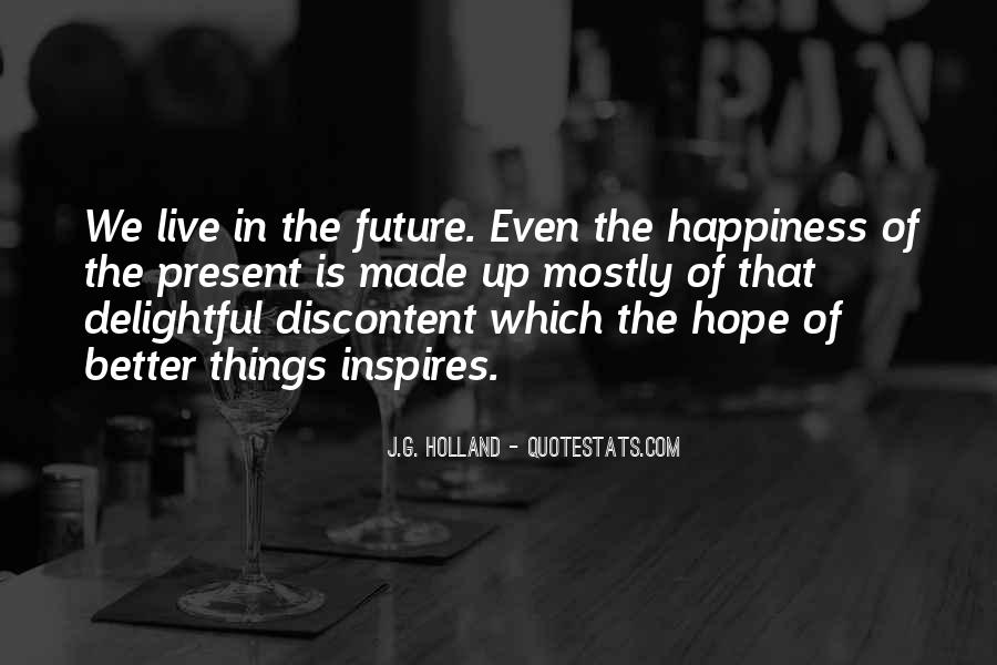 Hope Better Future Quotes #1153193