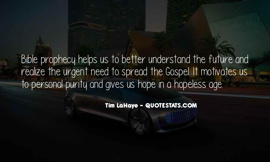 Hope Better Future Quotes #21667