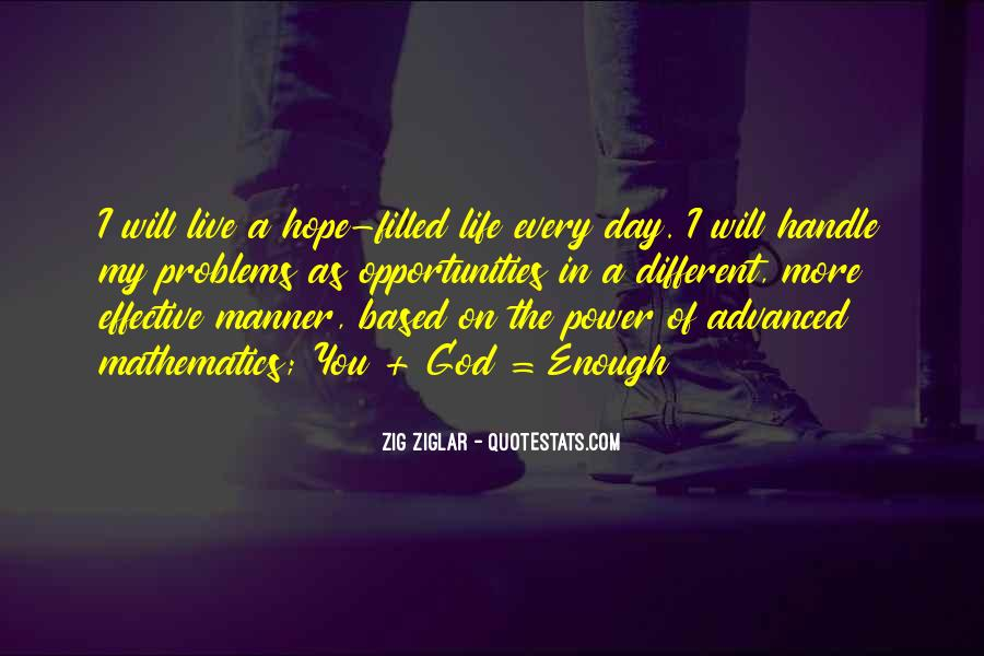 Hope For Cancer Quotes #1250289