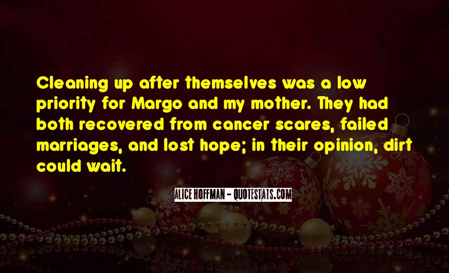 Hope For Cancer Quotes #390795