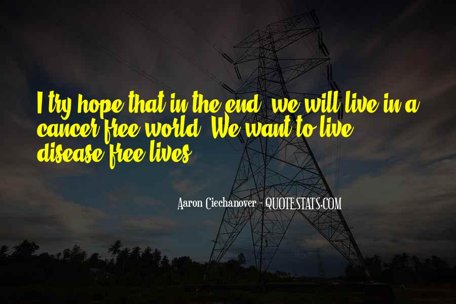 Hope For Cancer Quotes #681279