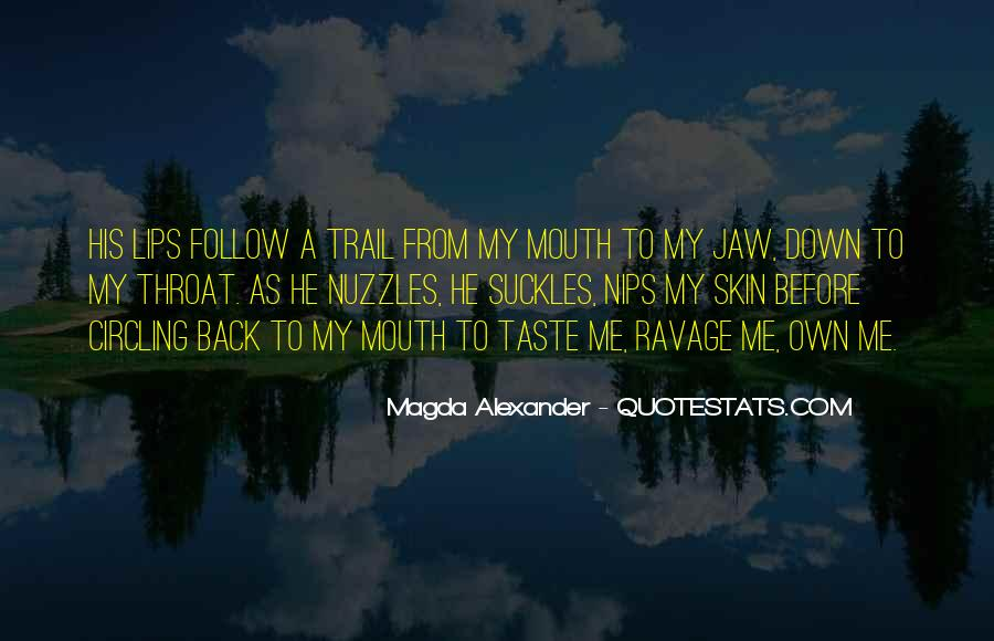 Quotes About Follow Me #112309