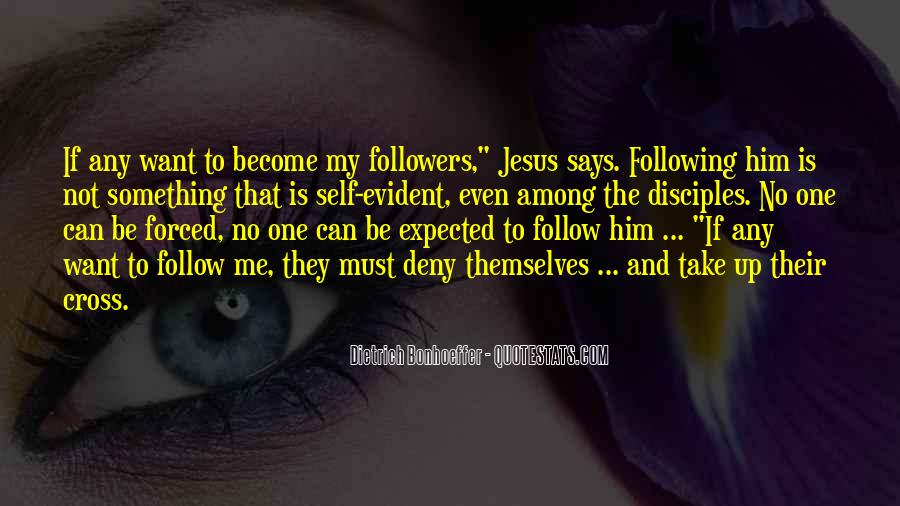 Quotes About Follow Me #141465