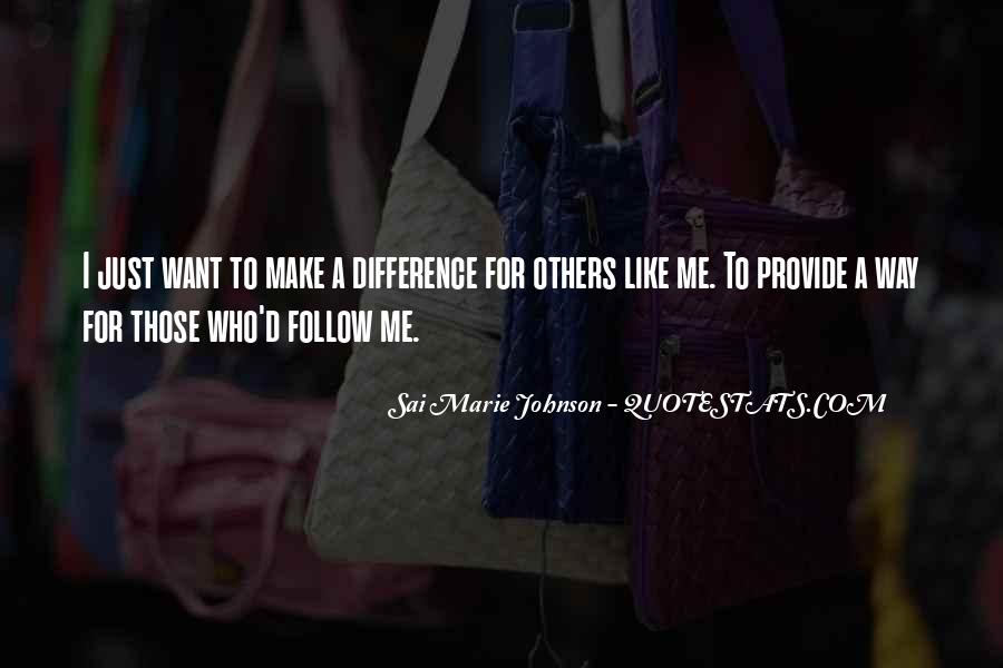 Quotes About Follow Me #182168