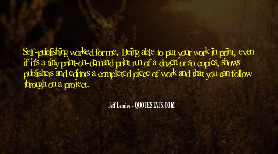 Quotes About Follow Me #247307